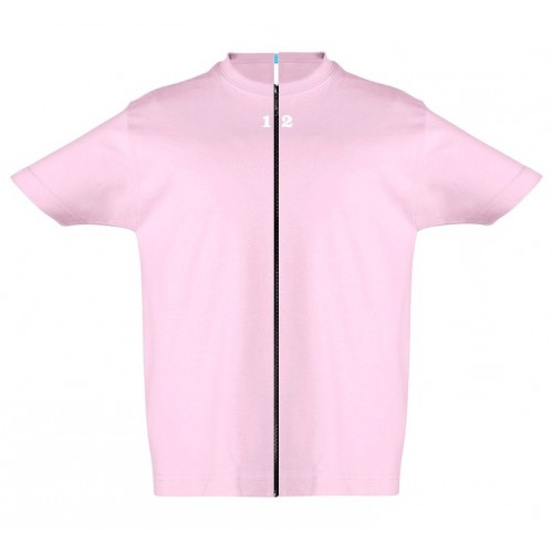 T-shirt separable children short sleeve pink