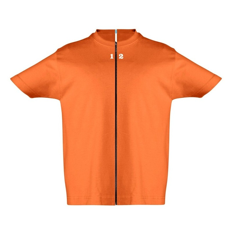 Home T-shirt separable children short sleeve orange - 12teeshirt.com