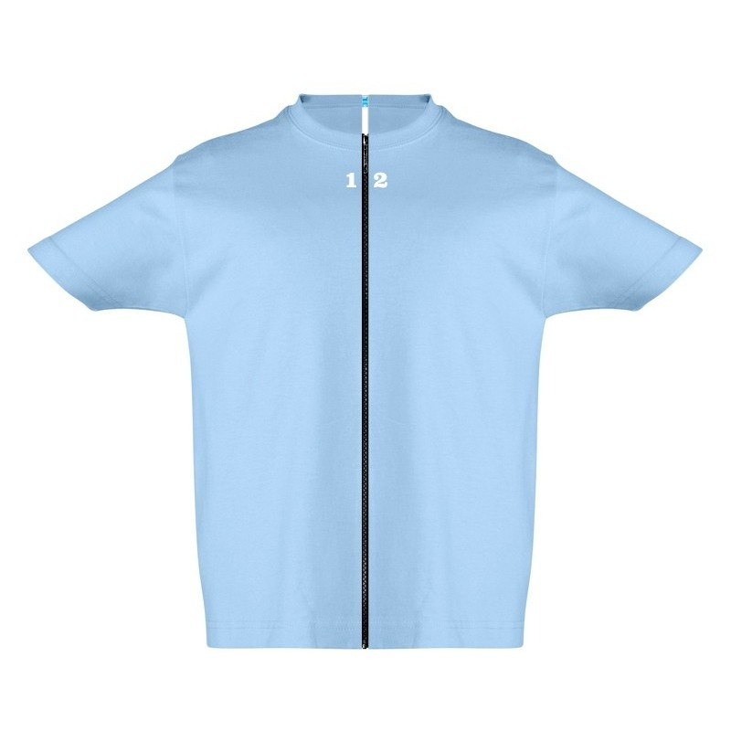 Home T-shirt separable children short sleeve sky blue - 12teeshirt.com