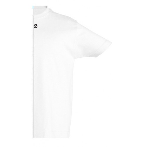 T-shirt children short sleeve white