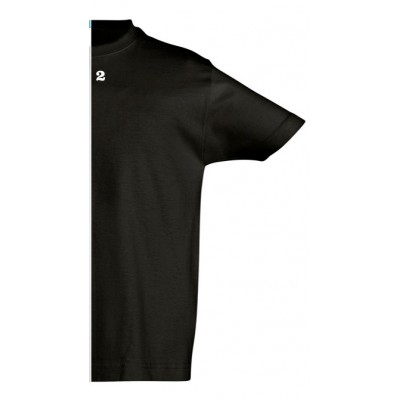 T-shirt children short sleeve black