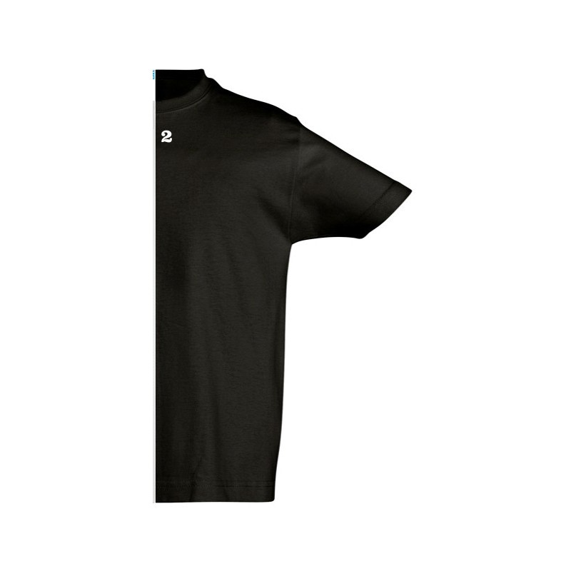 Home T-shirt children short sleeve black - 12teeshirt.com