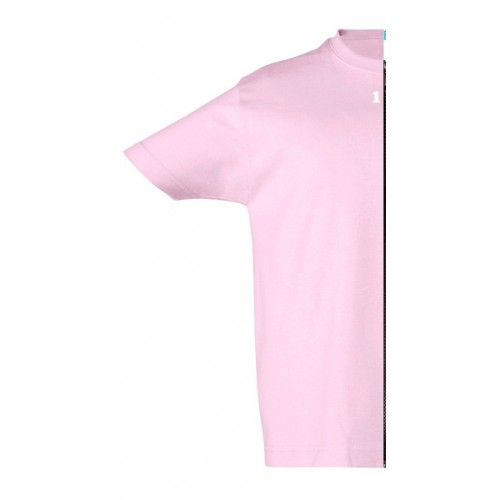 T-shirt children short sleeve pink
