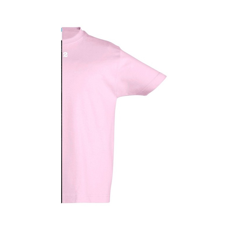 Home T-shirt children short sleeve pink - 12teeshirt.com