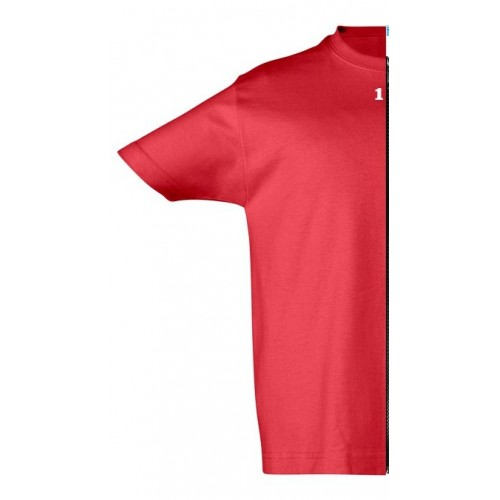 T-shirt children short sleeve rosso
