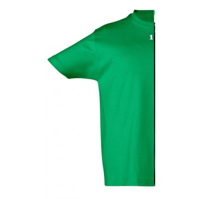 T-shirt children short sleeve green