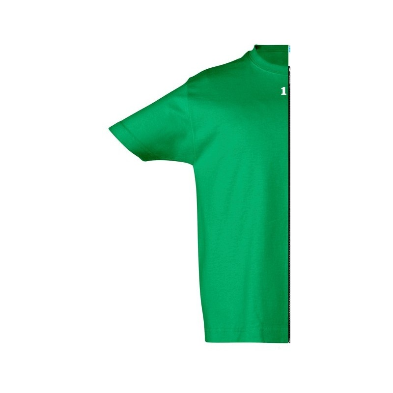 Home T-shirt children short sleeve green - 12teeshirt.com