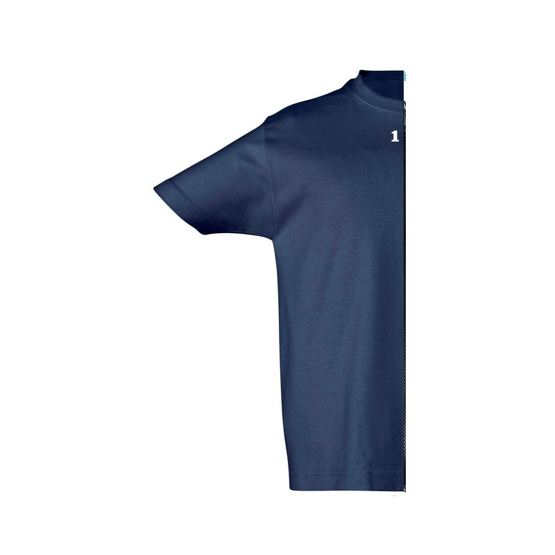 Home T-shirt children short sleeve navy blue - 12teeshirt.com