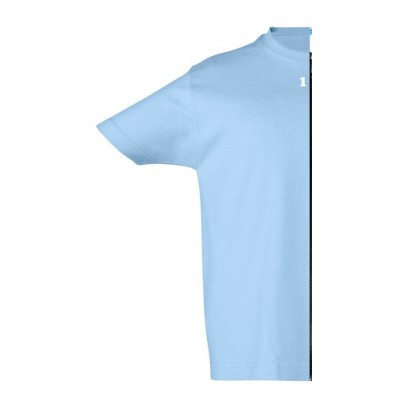 T-shirt children short sleeve sky blue