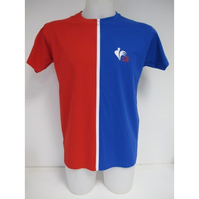 T-shirt séparable homme manche courte Made in France - by12.fr