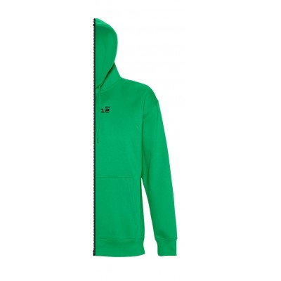 Sweat-shirt man with hood kelly green