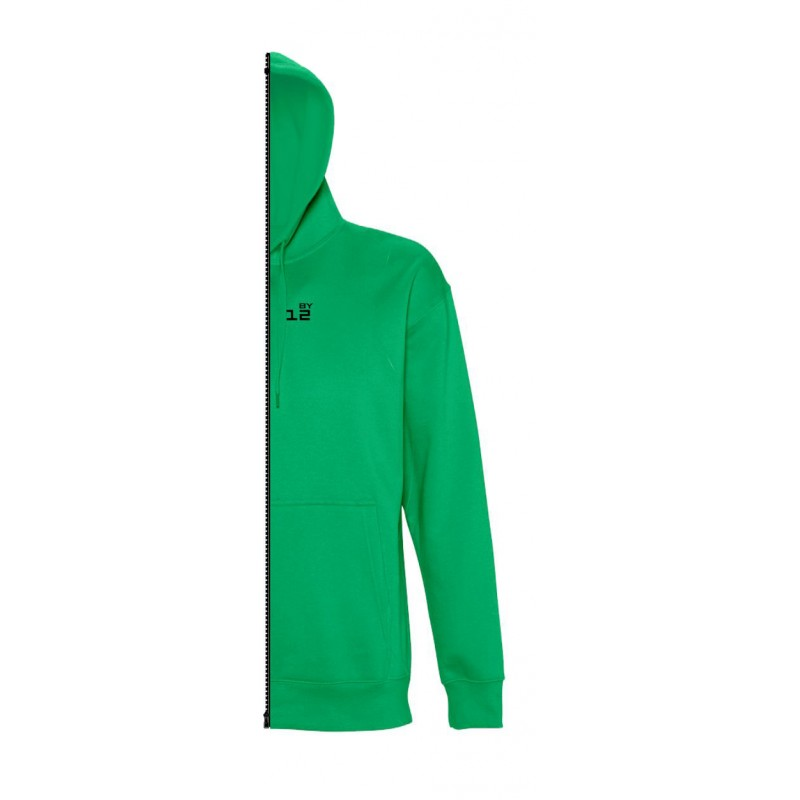 Home Sweat-shirt man with hood kelly green - 12teeshirt.com