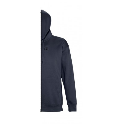 Sweat-shirt man with hood navy blue