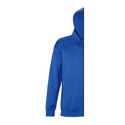 Sweat-shirt man with hood royal blue