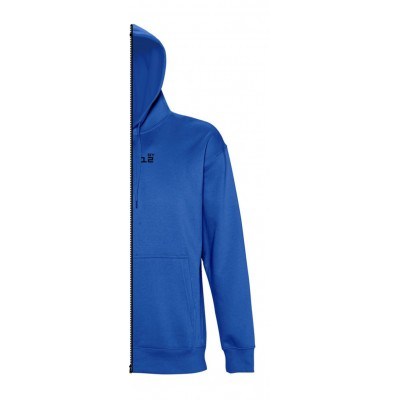 Home Sweat-shirt man with hood royal blue - by12.co.uk