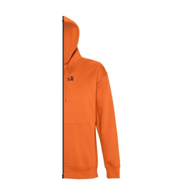 Home Sweat-shirt man with hood orange - by12.co.uk