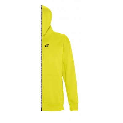 Home Sweat-shirt man with hood lemon yellow - by12.co.uk