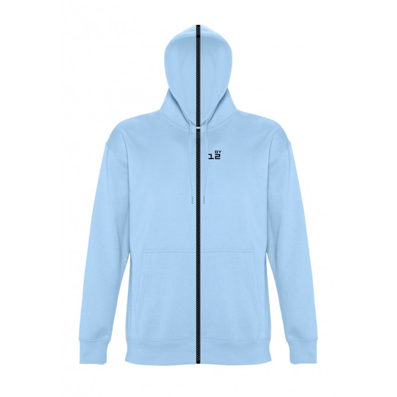 Home Sweat-shirt separable woman with hood sky blue - by12.co.uk