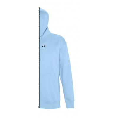 Home Sweat-shirt man with hood sky blue - by12.co.uk