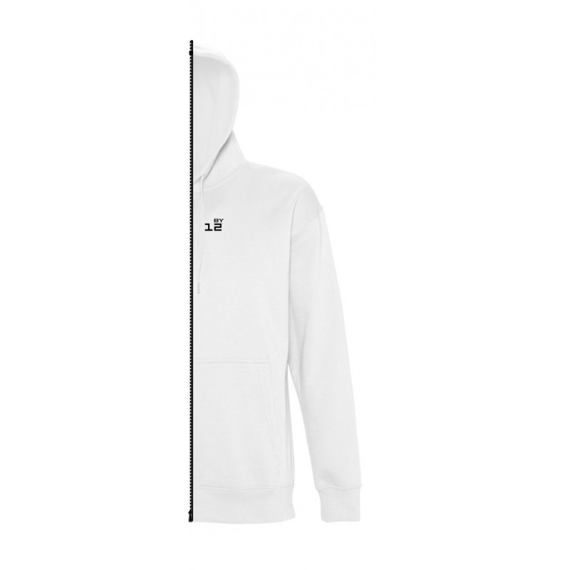 Home Sweat-shirt man with hood white - by12.co.uk