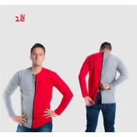 Separable long sleeved T-shirt for men