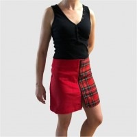 Separable skirt